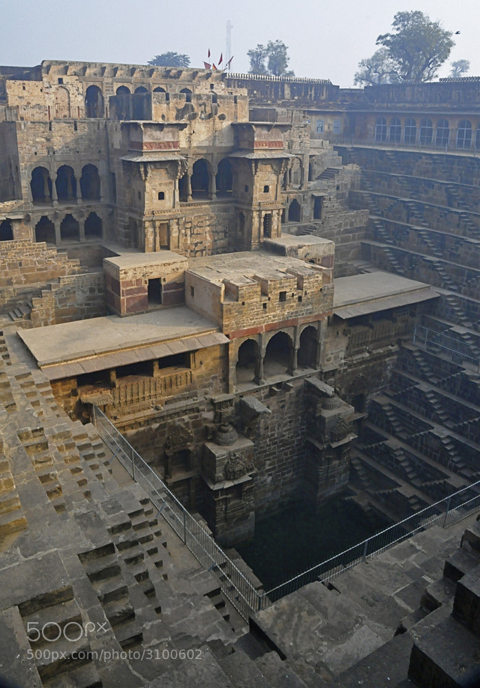 Photograph Step Well in India by Joe Routon on 500px