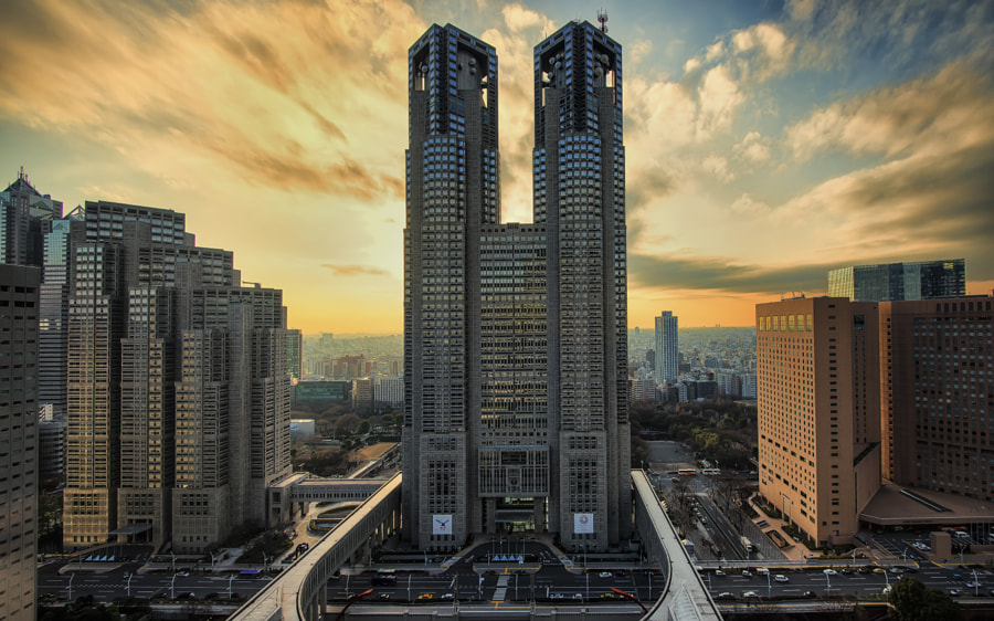 most beautiful cities in the world -Tokyo Metropolitan Government Building by Andy Sim on 500px.com