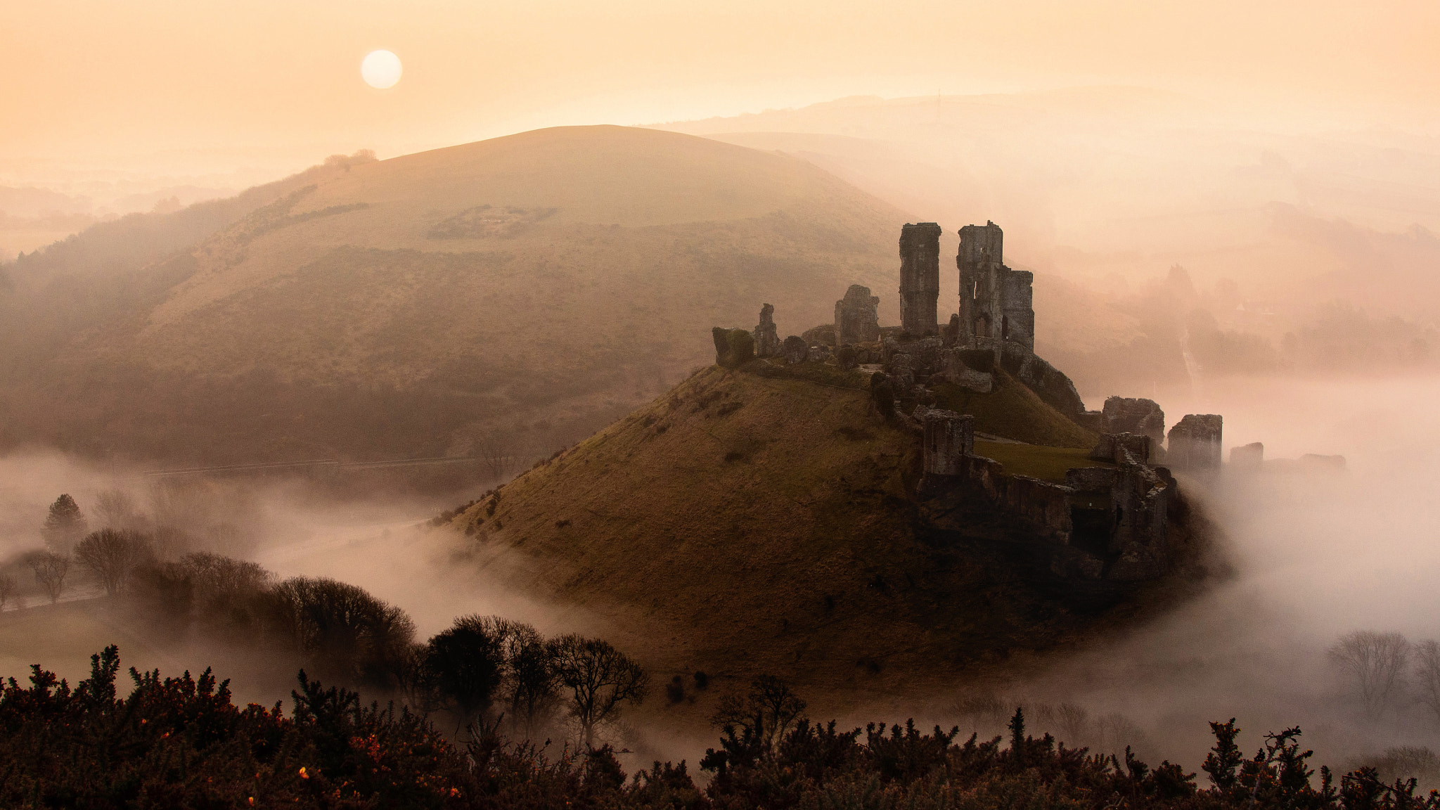 Photograph Corfe Castle by Thomas W. on 500px