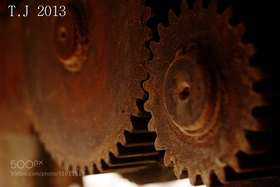 Photograph Gears by Taha Alshimaree Tj on 500px
