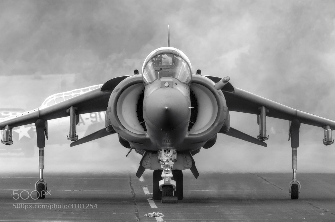 Photograph Harrier Engine Start by Chris Buff on 500px