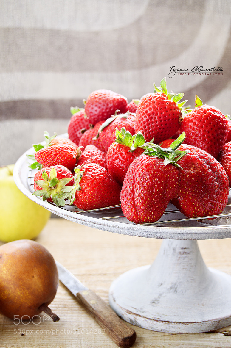 Photograph Strawberries   by Tiziano Muccitelli on 500px