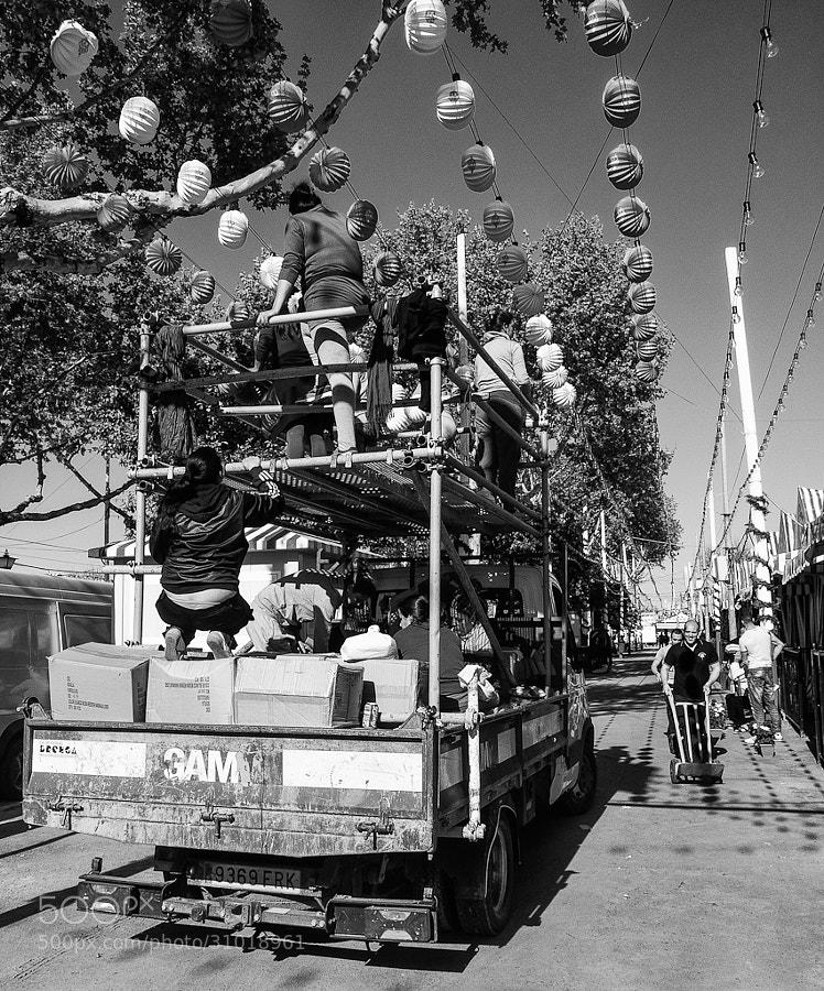 Feria de Abril by José María González-Serna Sánchez (glezserna)) on 500px.com
