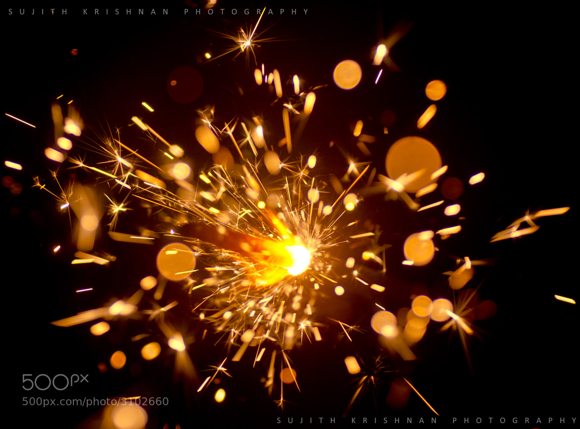 Photograph Diwali Sparklers Upclose... by Sujith Krishnan on 500px