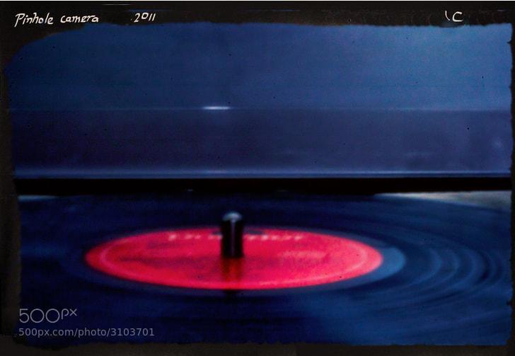 Photograph Pinhole Vinyl by L Carroll on 500px