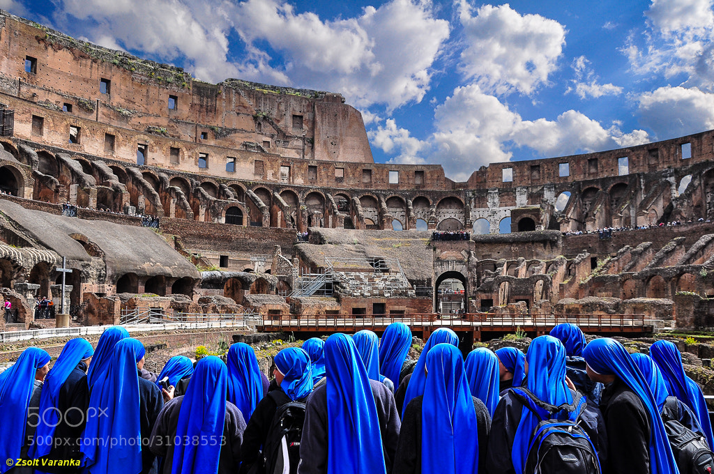 Photograph visiting Rome, Colosseum by Zsolt Varanka on 500px