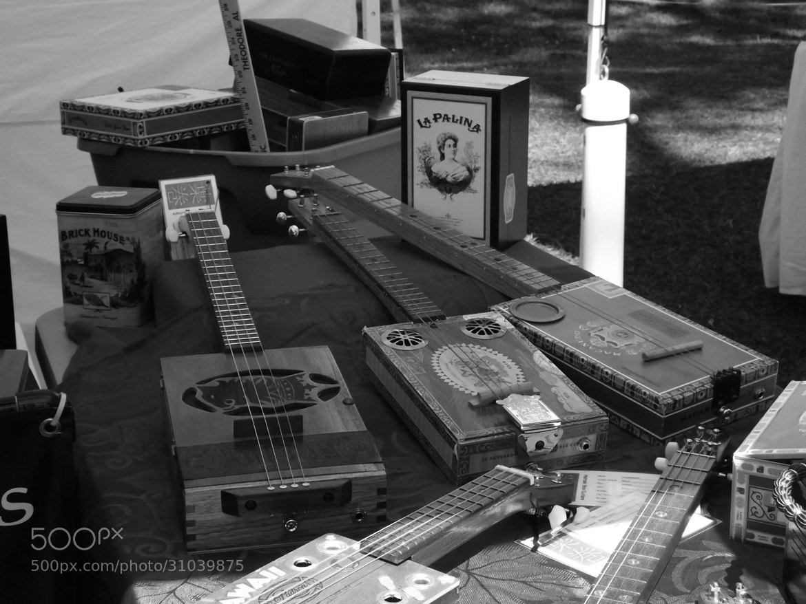 Photograph Hamaki Box Guitars - Monochrome by Ruth Spicer on 500px