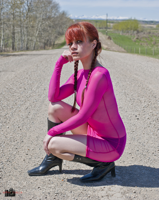 Photograph Jadeyn - Hot Pink by Neil Young on 500px