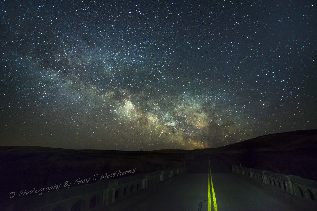 Photograph Road to the Stars * by Gary Weathers on 500px