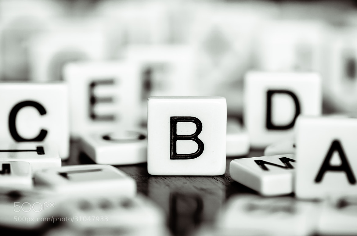 Photograph 'B' is for Bokeh by Laurens Kaldeway on 500px