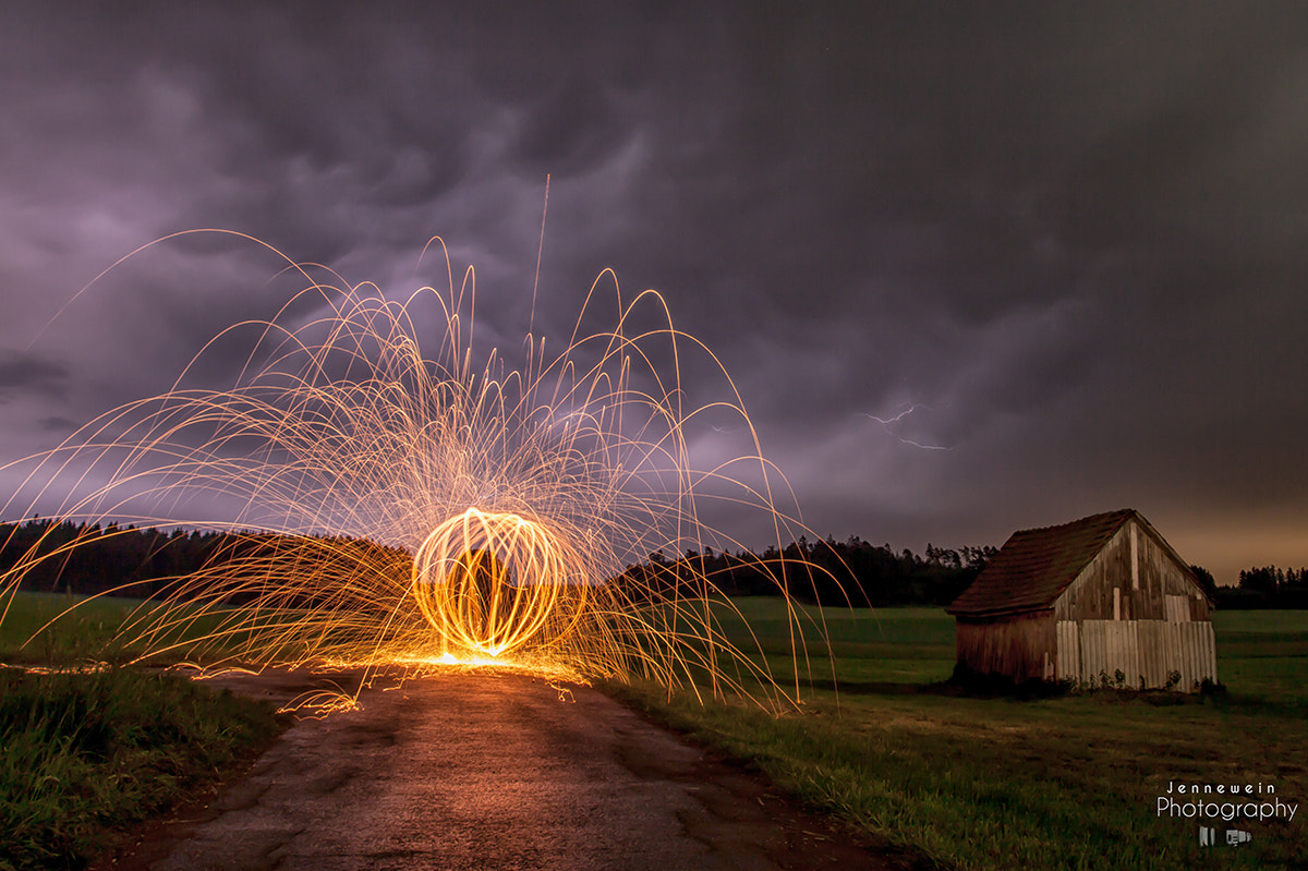 Photograph Lightpainting by Thunderstorm by Jennewein Photography on 500px