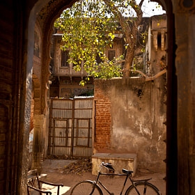 Bike in Mandawa