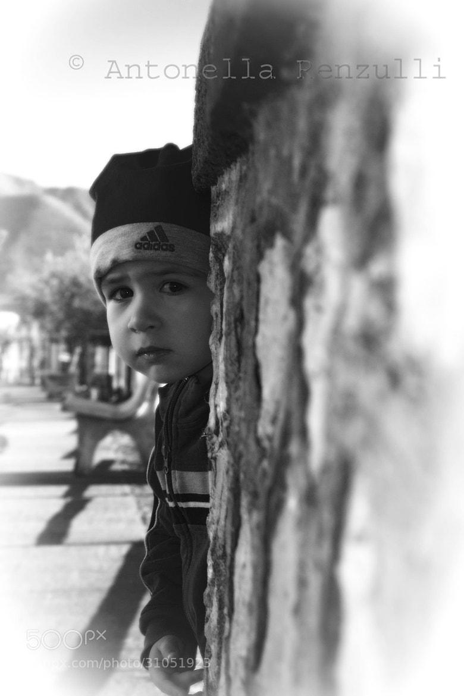 Photograph peekaboo by Antonella Renzulli on 500px