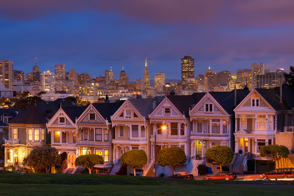 Photograph Alamo Square by Lukas Wenger on 500px