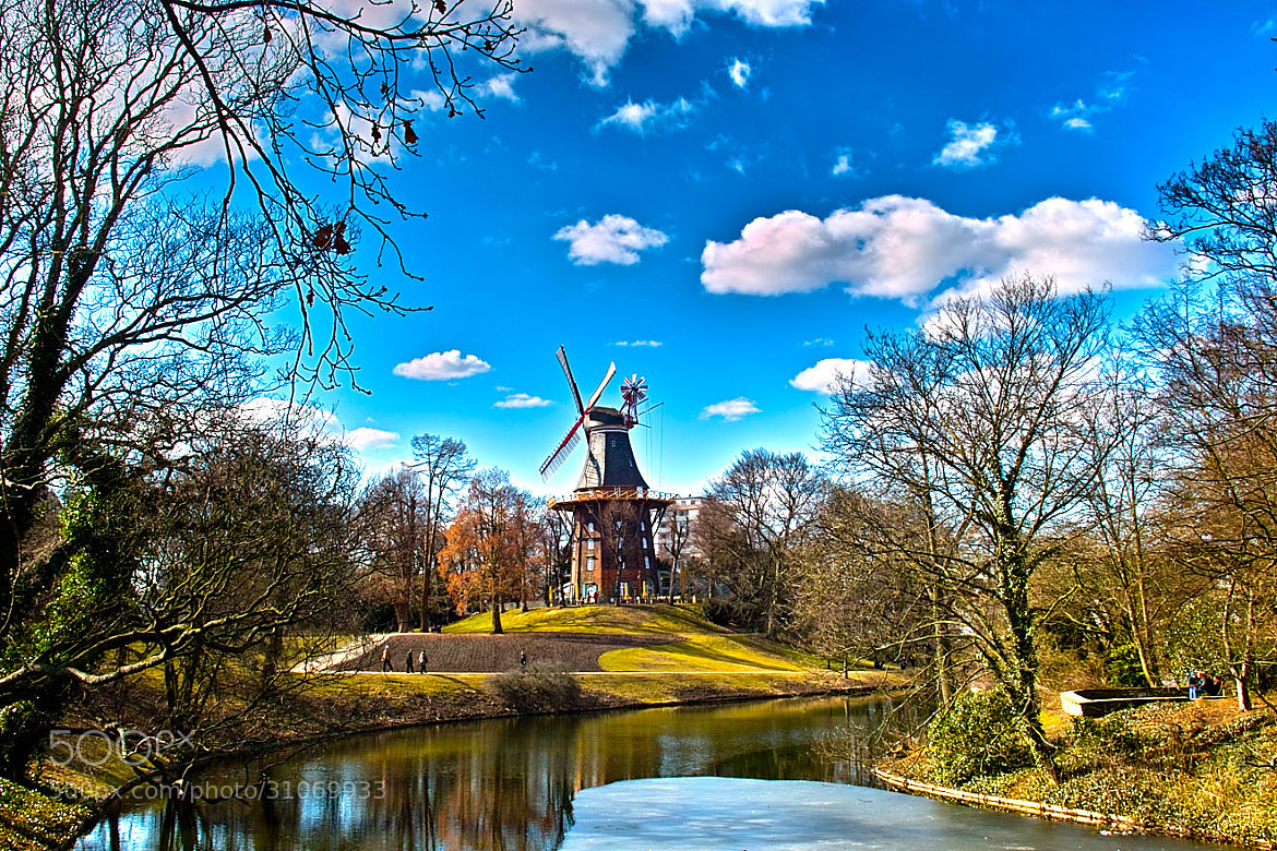 Photograph Wind Mill standing tall... by DeepInDraw on 500px