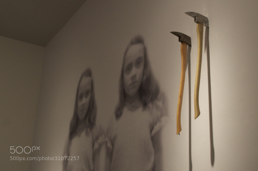 Photograph The Shining: Axes and Scary Twins by Juan Carlos Salas on 500px