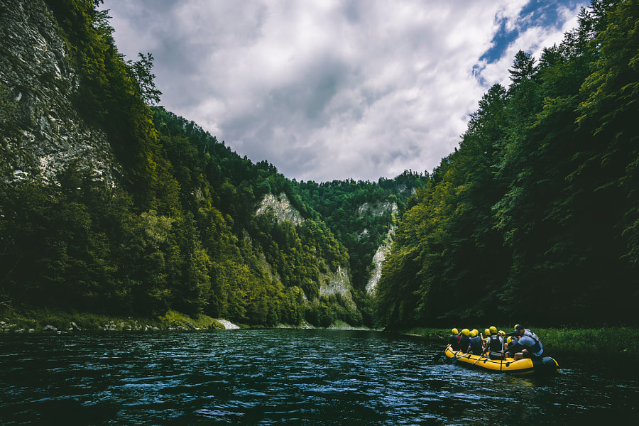 Rafting the Dunajec by Claudio de Sat on 500px.com