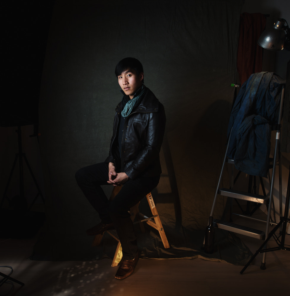 Photograph Chris in the Studio by Alexandria Huff on 500px