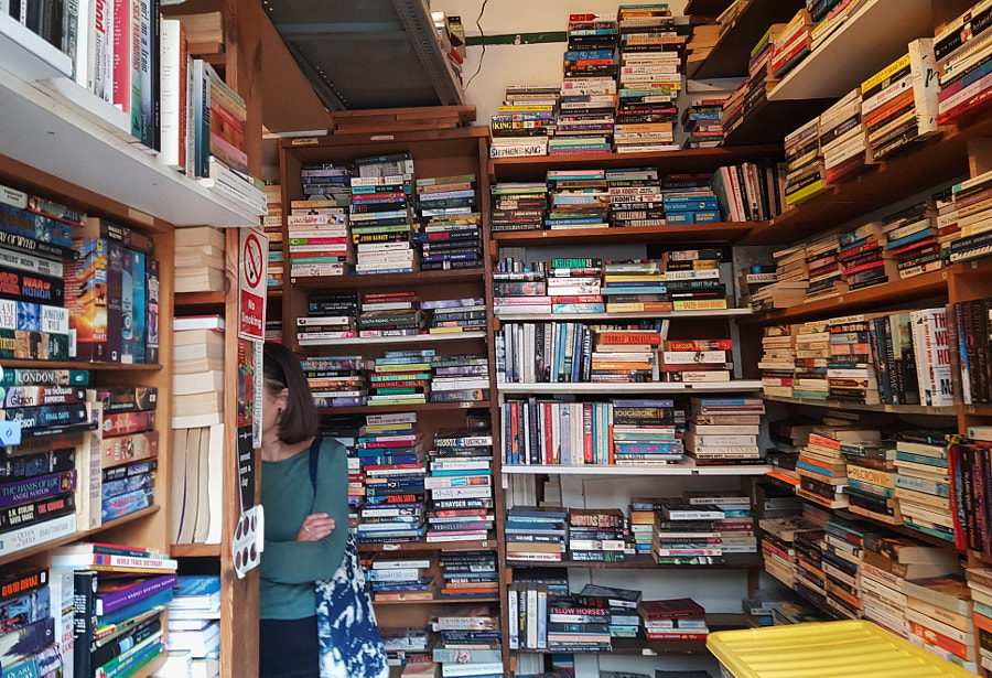 """""""So many books, so little time"""", London by Sandra  on 500px.com"""