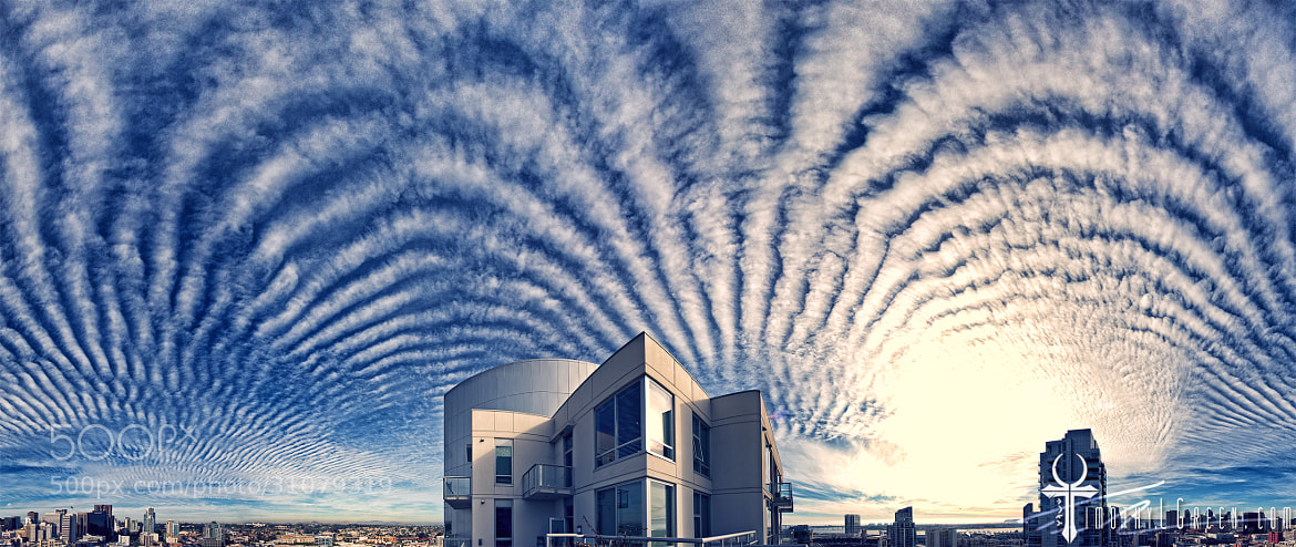 Photograph Psychedelic Skies Over San Diego by Timothy Green on 500px