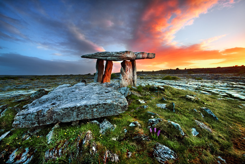 Photograph Poulnabrone Sunrise by Stephen Emerson on 500px