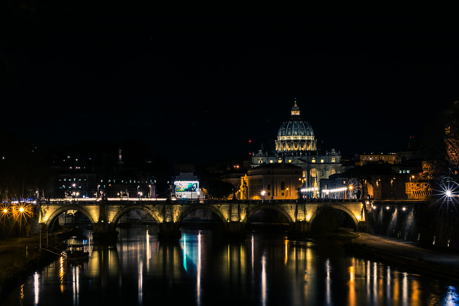 Ponte Sant'Angelo by Ruslan Ishemgulov on 500px.com