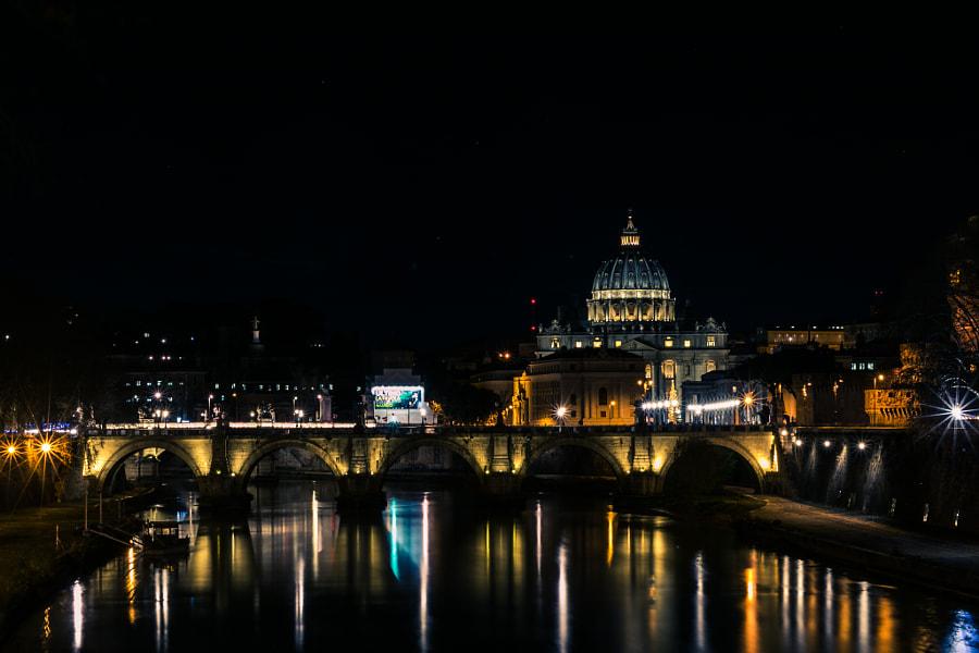 Ponte Sant'Angelo by Ruslan Ishemgulov on 500px.com