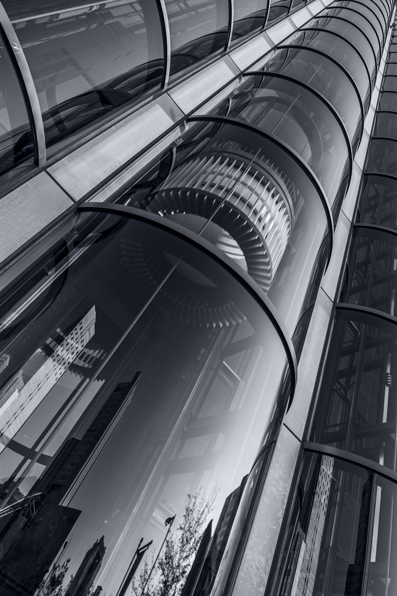 Photograph Elevator Reflections by hugh dornan on 500px