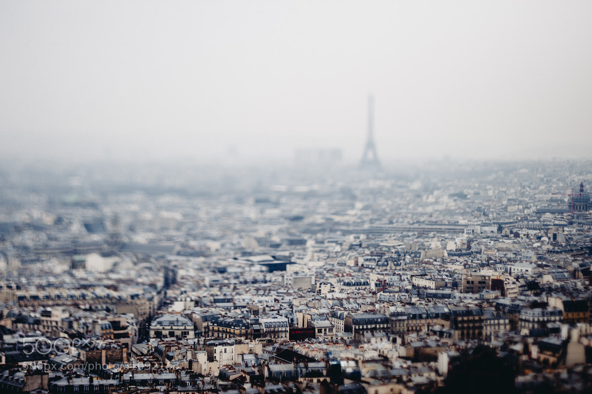 Photograph Foggy Paris by Raphaël Dupertuis on 500px