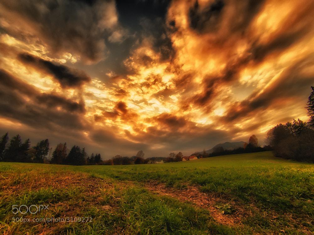 Photograph sky on fire by Rznag Rmrod on 500px