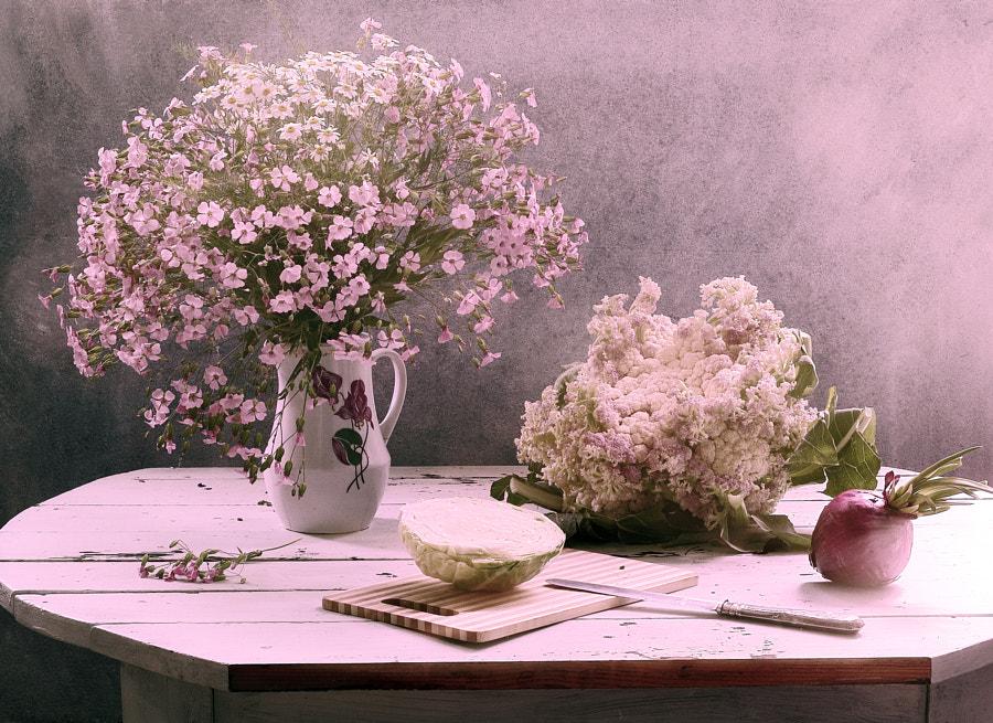 Still life with cauliflower by Galina (UstinaGreen) on 500px.com