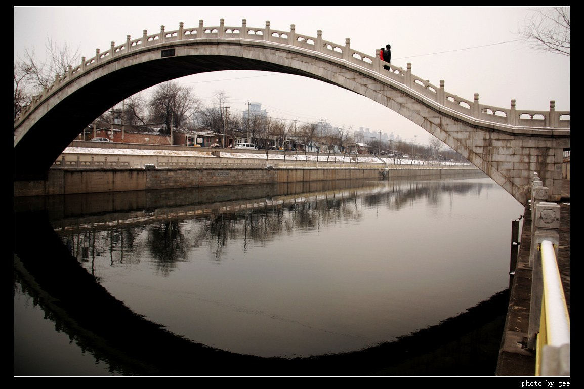 Photograph Bridge over Tonghui river by Yan Song on 500px