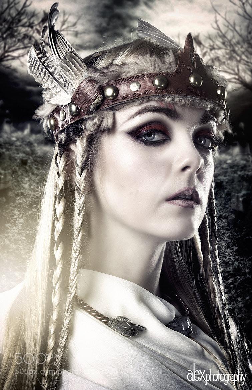Photograph Valkyrie Portrait by Alex Kie on 500px