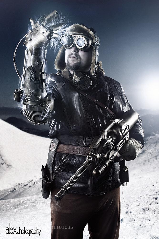 Photograph Steampunk sciencist by Alex Kie on 500px