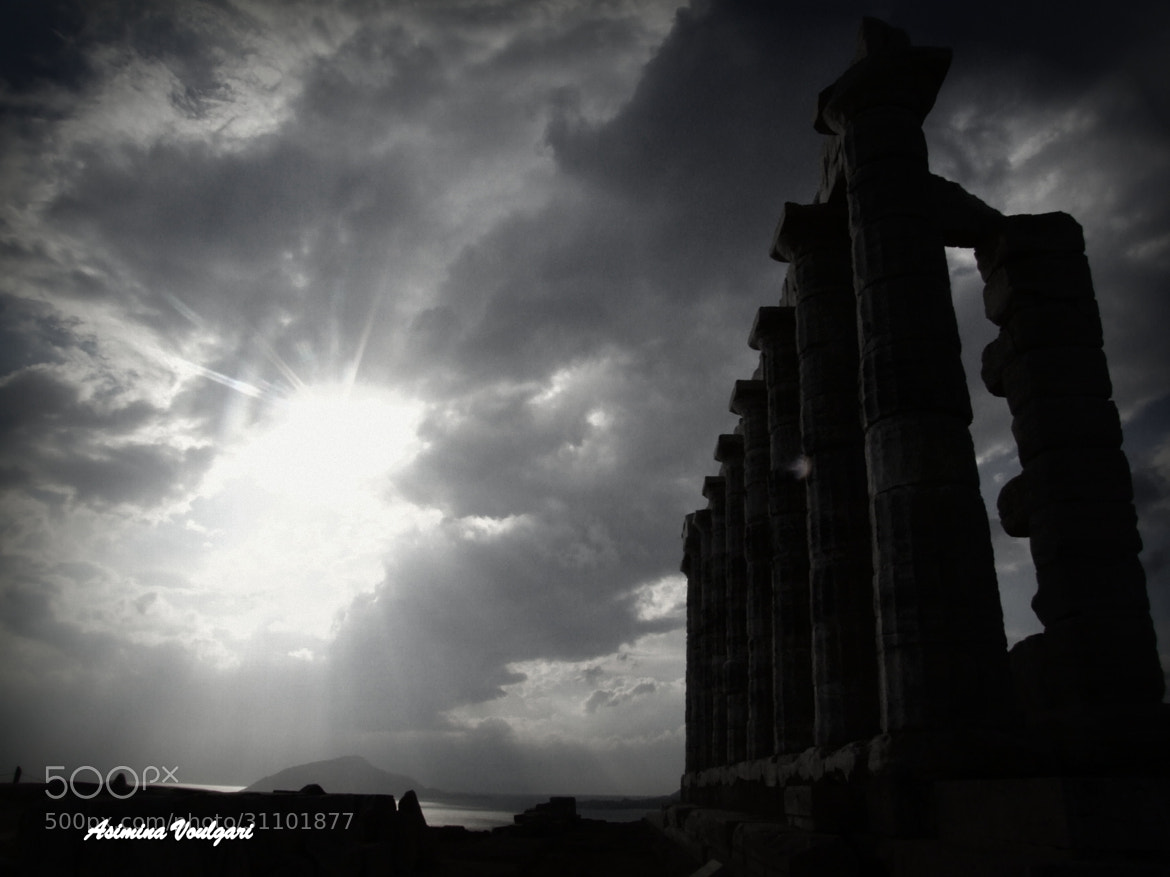 Photograph Sounio. The temple of Poseidon   by Asimina   Voulgari  on 500px