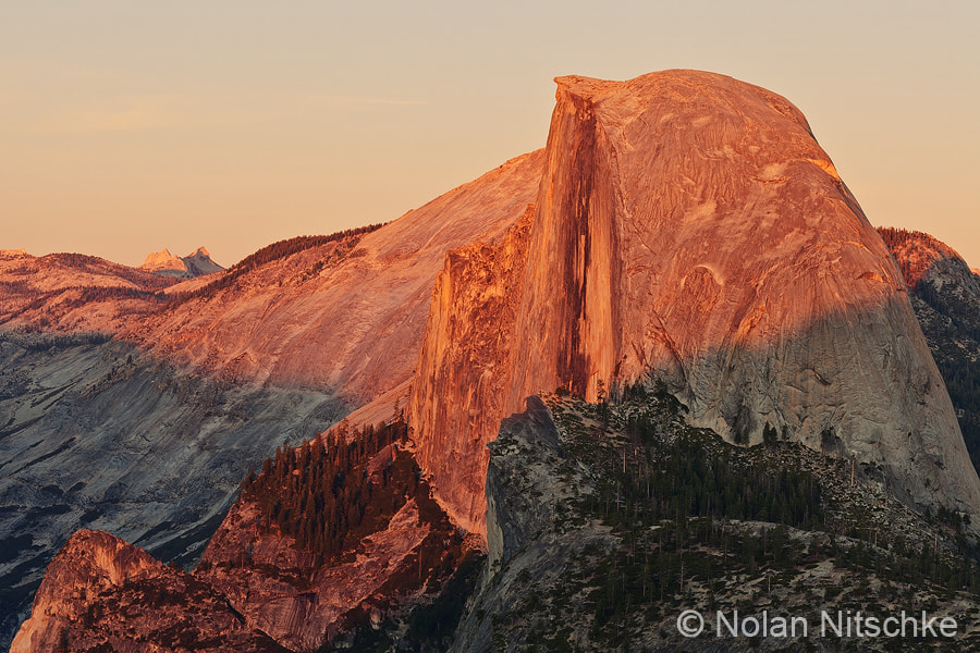 Photograph Half Dome Sunset by Nolan Nitschke on 500px