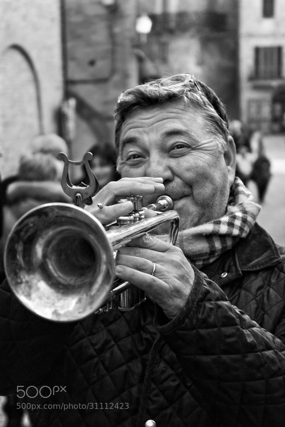 Photograph Blowing His Horn by mario pignotti on 500px