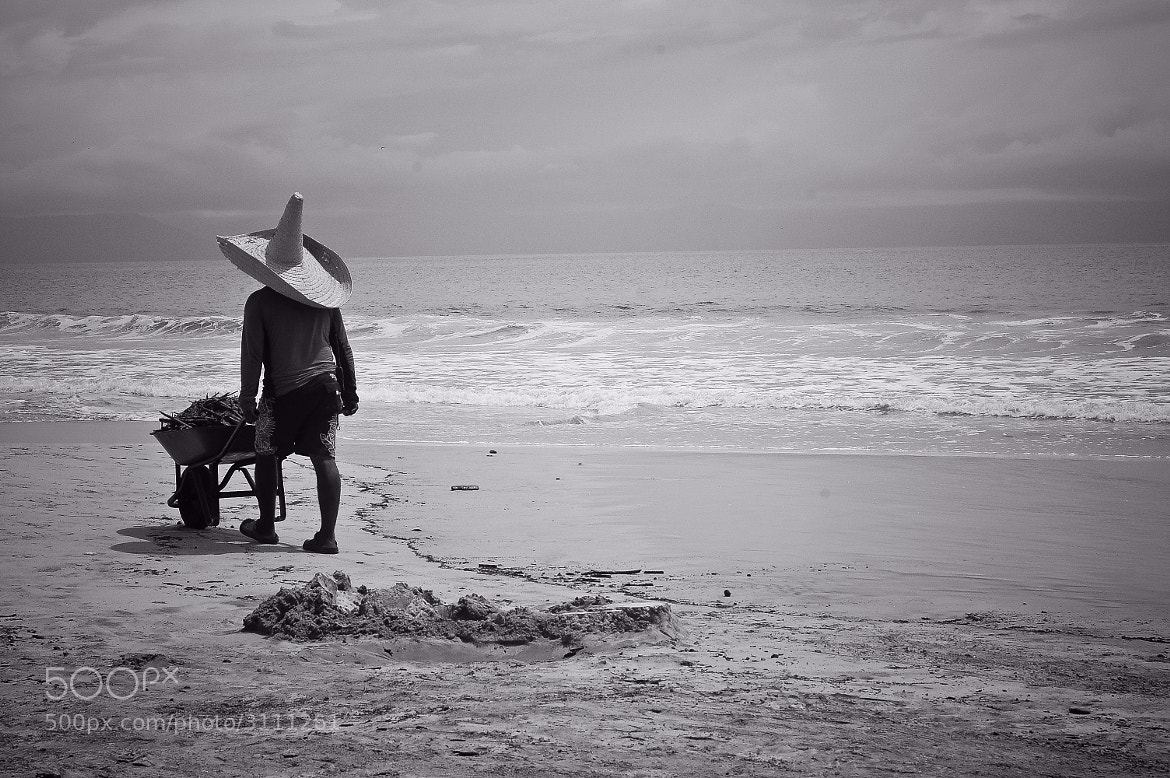 Photograph Working the Beach by Gustavo Mondragon on 500px