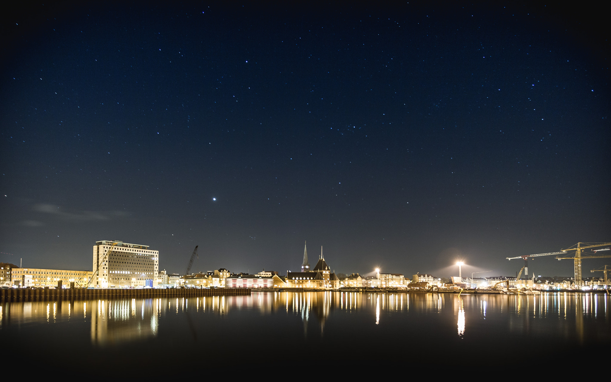 Photograph Aarhus by Night by Jakob Halskov on 500px