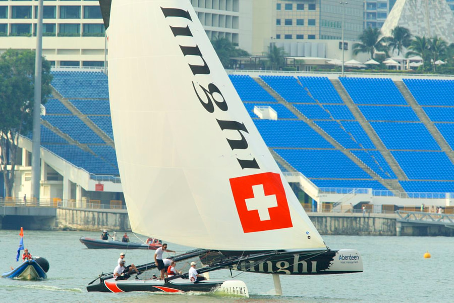 Extreme Sailing by Alinghi