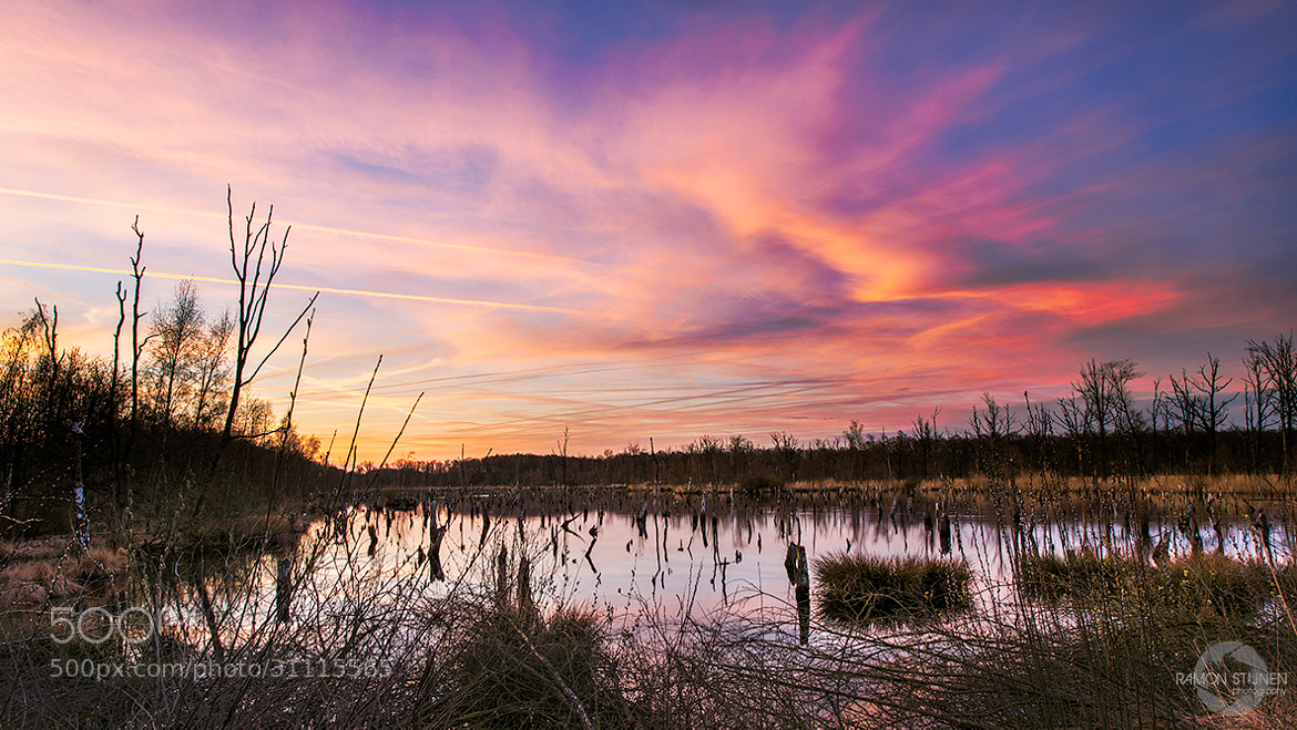 Photograph Flaming sky by Ramon Stijnen on 500px