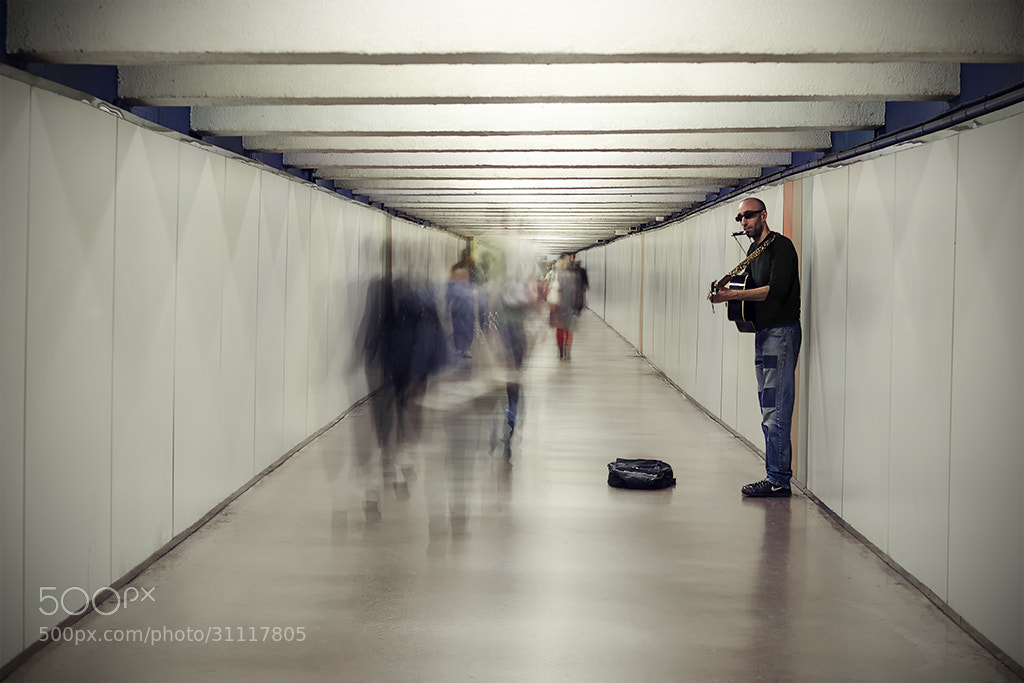Photograph Underground music by Juan Novakosky on 500px