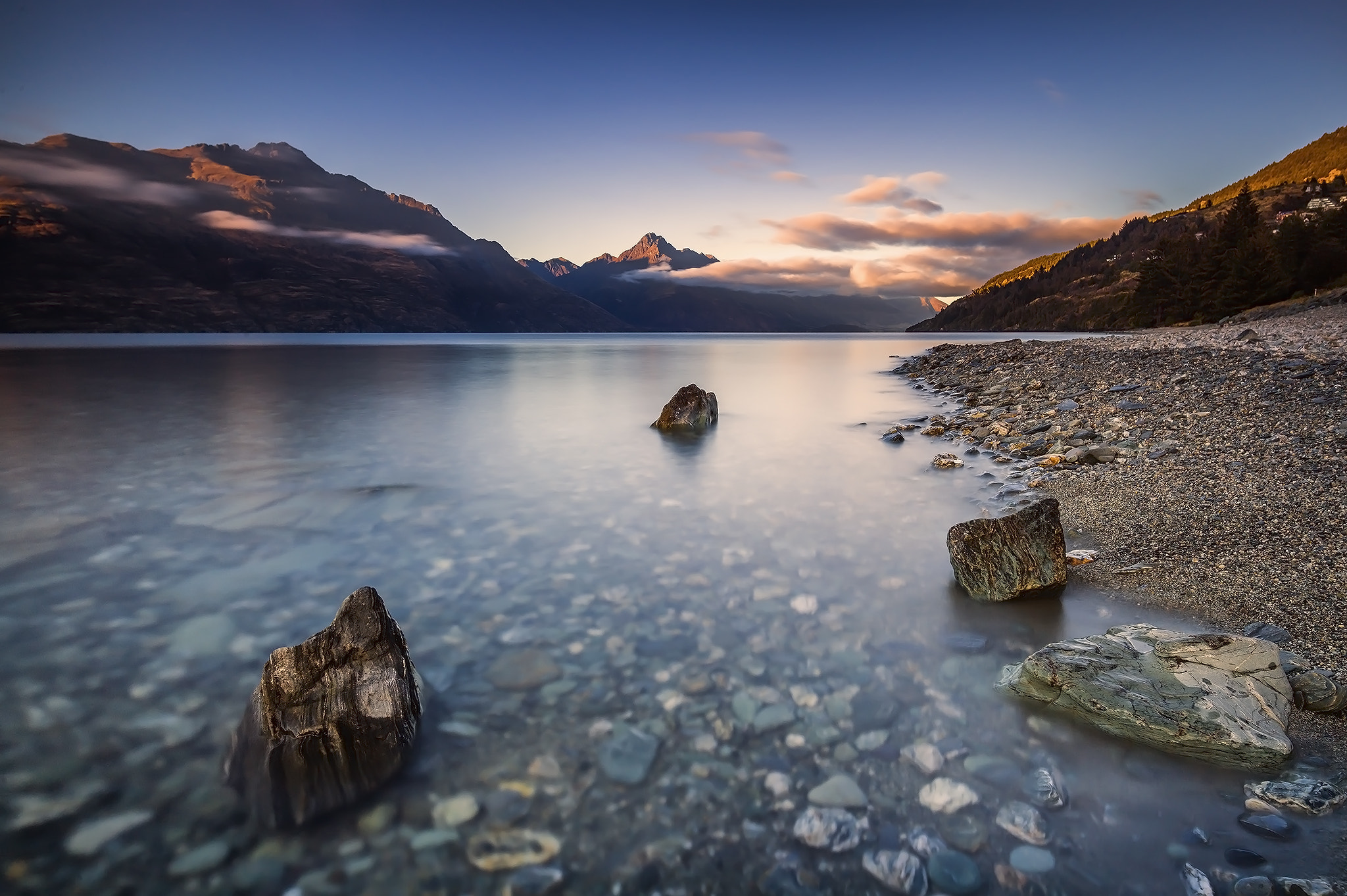 Photograph Lake Wakatipu by Byron Prukston on 500px