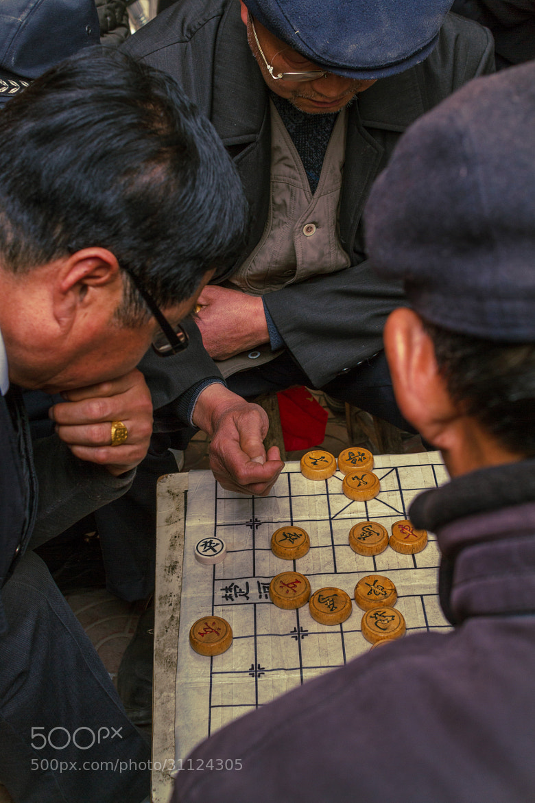 Photograph chess on the street by Zaoliang Luo on 500px