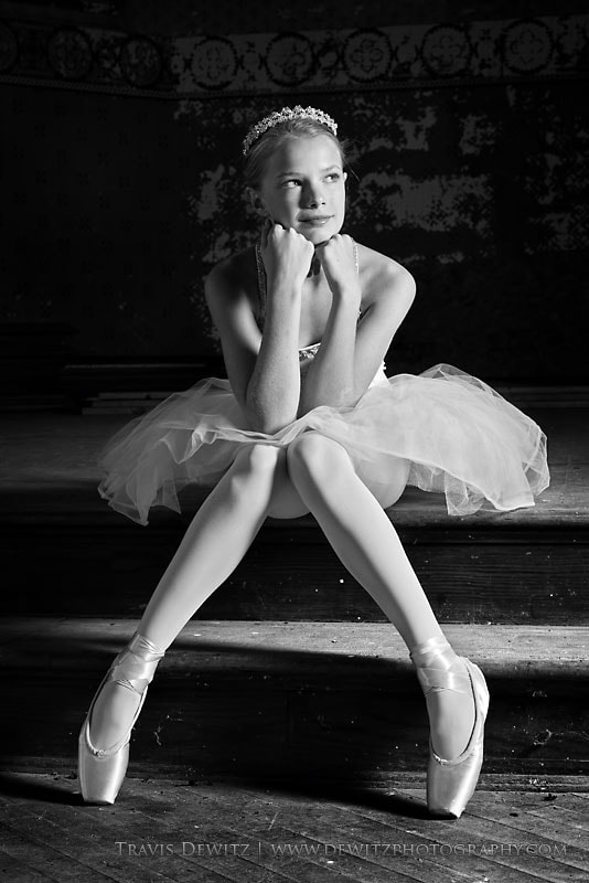Photograph Pretty Ballerina by Travis Dewitz on 500px