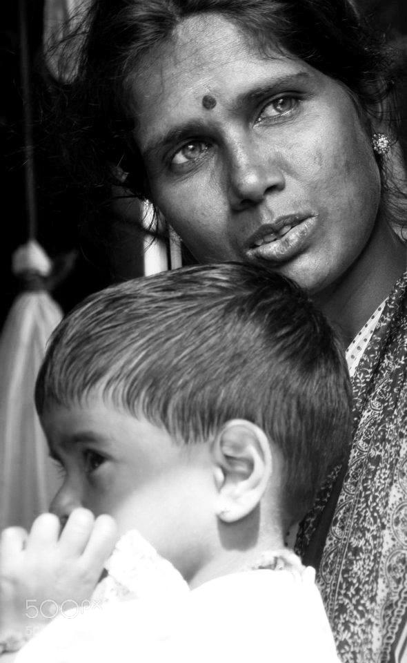 Photograph Sri Lankan Nurse  by Nabil BACHIR-CHERIF on 500px