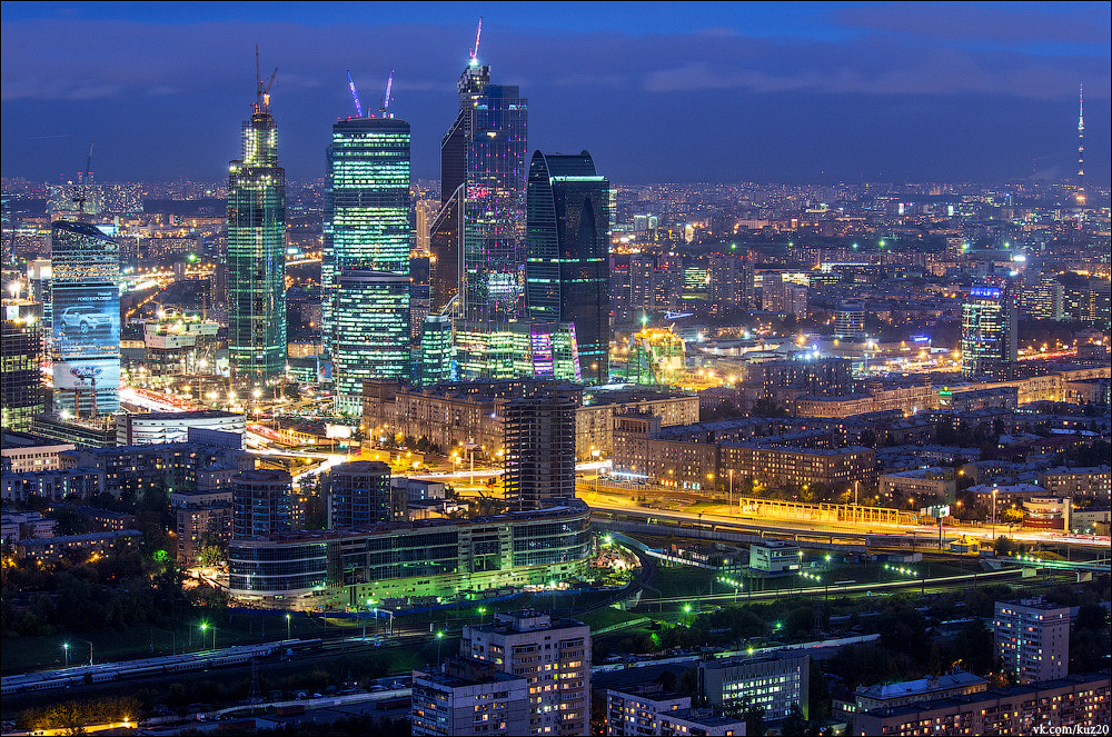 Photograph Moscow International Business Center by Ivan Kuznetsov on 500px