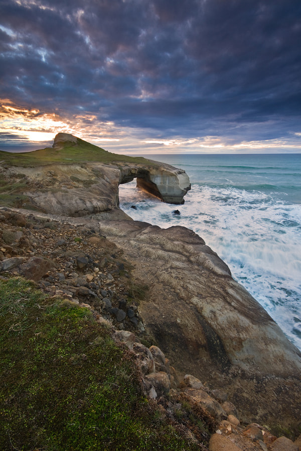 Photograph Tunnel Beach by Chris Gin on 500px