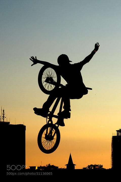 Photograph fly with your bycicle by Uccink Tonji on 500px