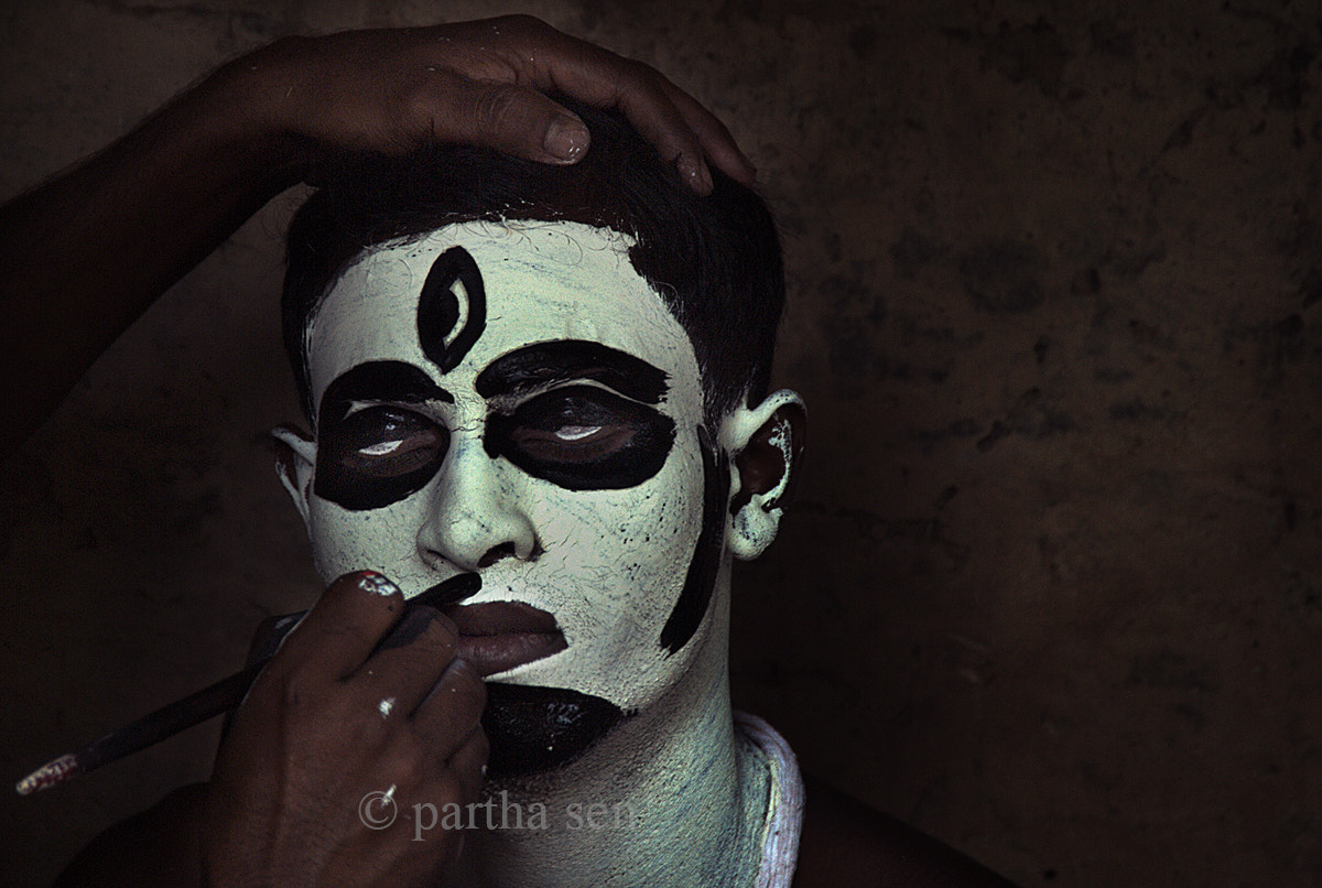 Photograph Face painting by Partha Sen on 500px